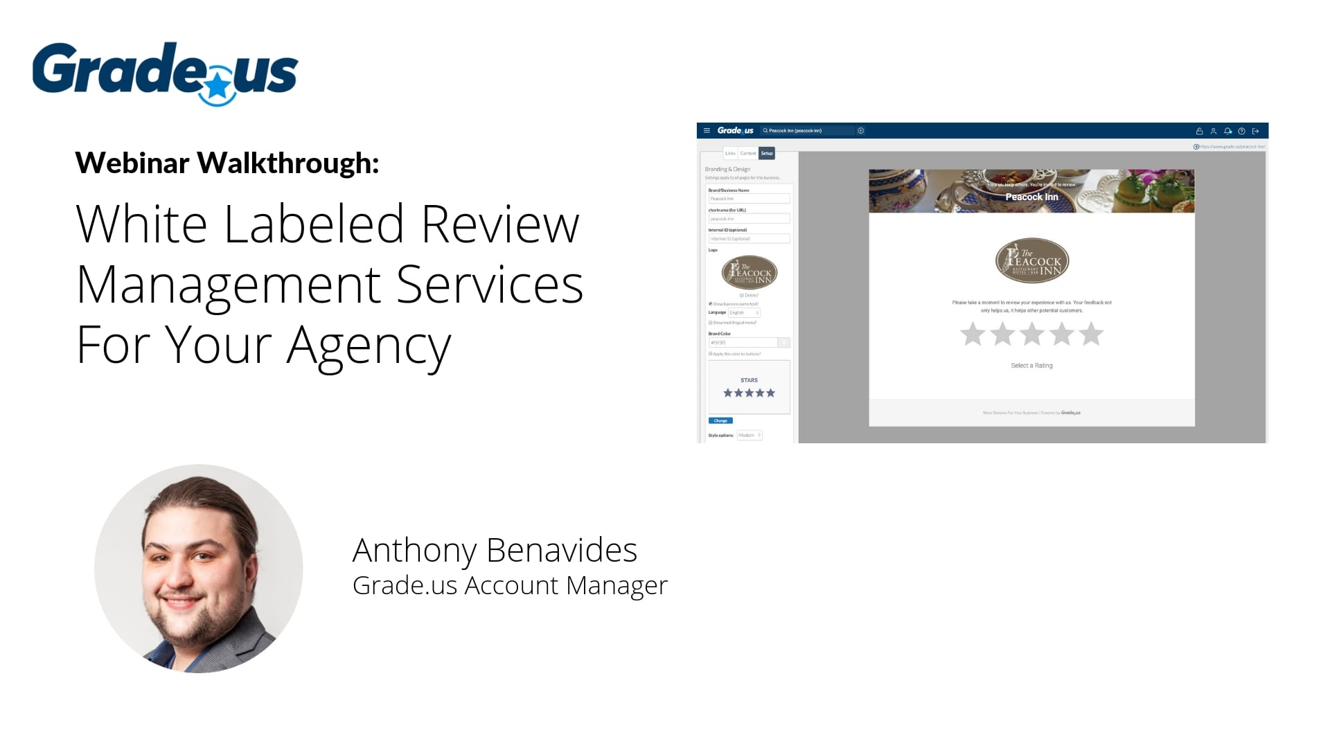 Webinar: White Label Review Management Services For Your Agency