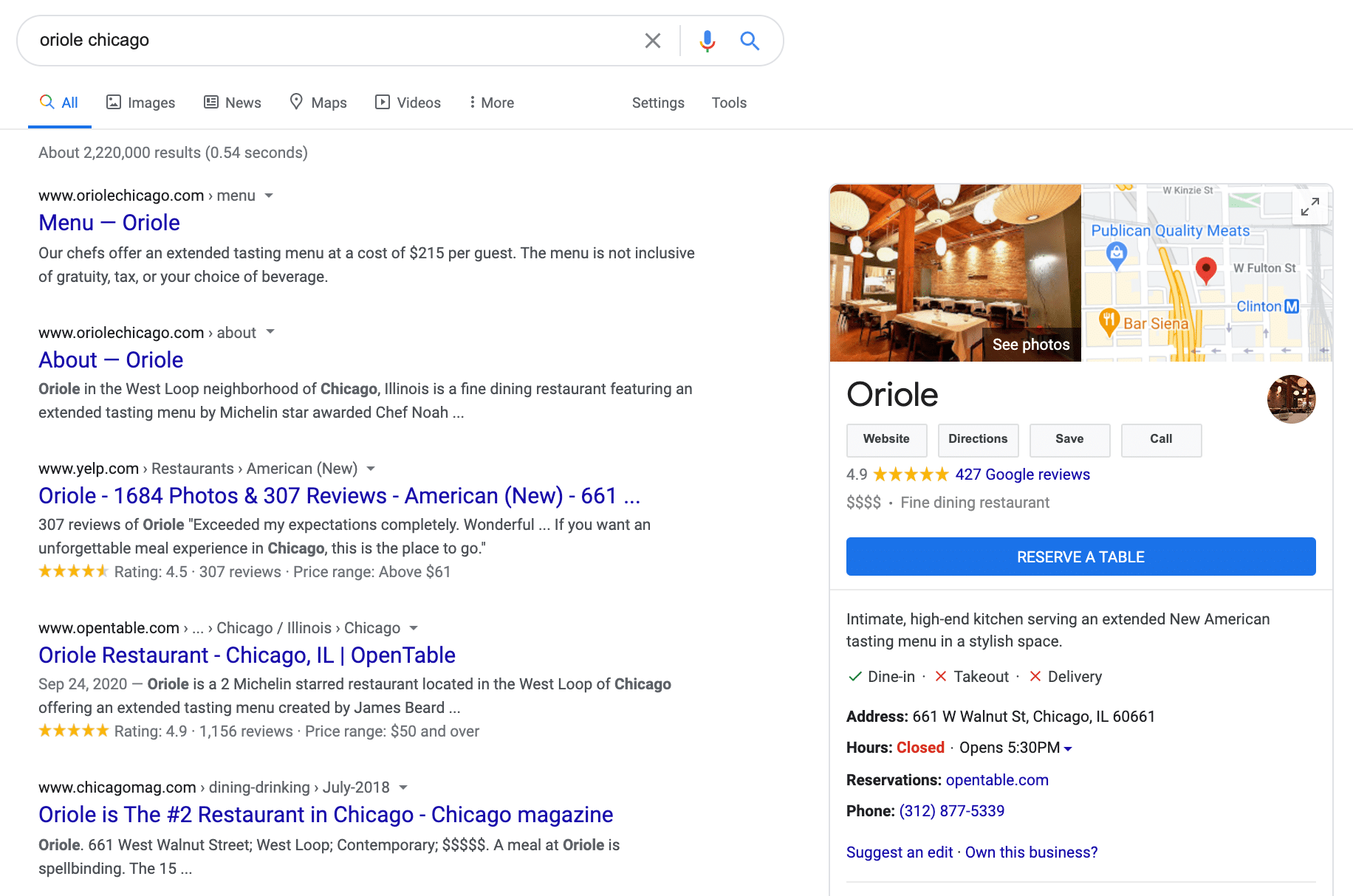 search for business google